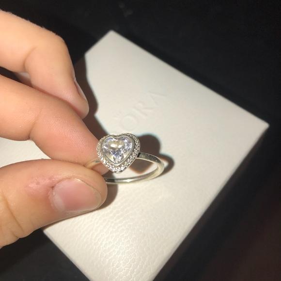 fd5553f08 get pandora sparkling love heart ring d8bc0 95bdd